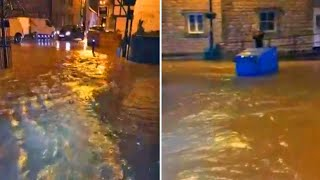 video: Storm Christoph: 2,000 homes evacuated around Manchester amid widespread flooding