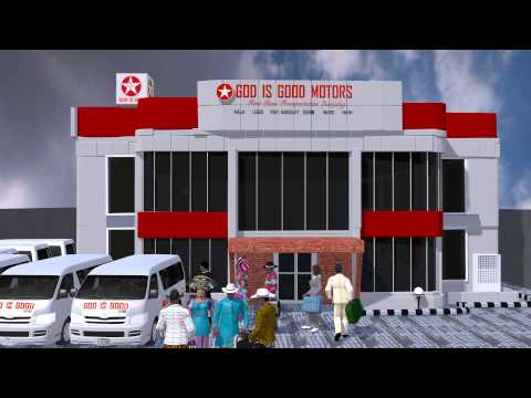3D Animation for TV ad (Nigeria Africa)