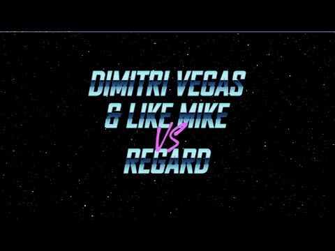 Dimitri Vegas & Like Mike vs Regard - Say My Name (Lyric Video)