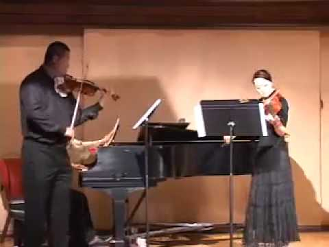 Violinbaby Music Studio Teacher's Concert, Bach Double 1st Mov.