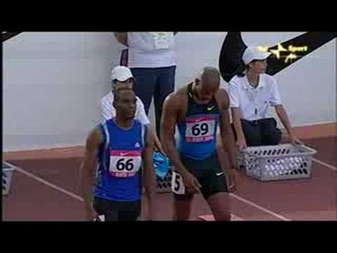 "Meeting of Rieti 2008 -  Asafa Powell 9""77"