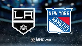 Nash, Rangers take down Kings, 4-2