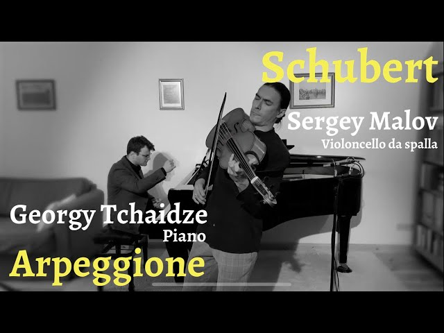 Sergey Malov plays Schubert Arpeggione on Violoncello da Spalla