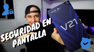 vivo V21 👍 Como  Activar la Seguridad En Pantalla /Pin / Contraseña/  HD 🔐 🤗