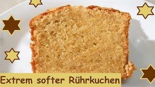 Mega softer Rührkuchen, einfach und schnell gemacht!