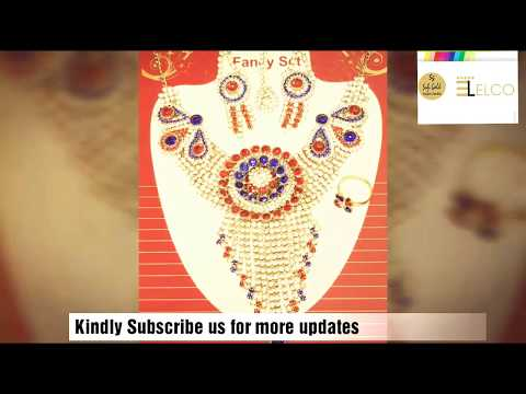 Imitation Jewellery Designer Products video collection by Elco Jewellers Mumbai India