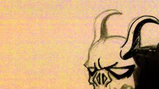 Draw Demon Skull Tattoo Part 2