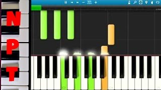 Halsey - Ghost Piano Tutorial - How to play Ghost on piano by Halsey - Synthesia Piano Cover