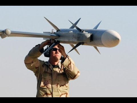 US Military Small Drone That Extend The Range Of An AIM 120 Air To Missile