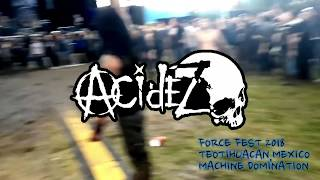 Acidez- Wall Of Death FORCE FEST 2018