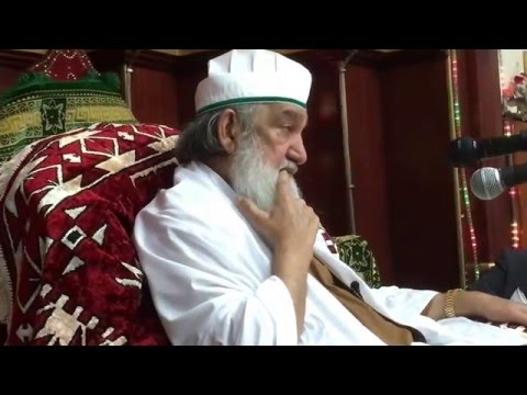 Hazoor Shaykh ul Alam Hazrat Pir Muhammad Alauddin Siddiqui Sahib (DBA)