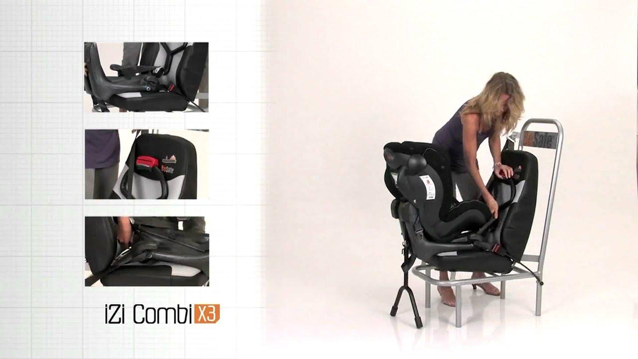 besafe izi combi x3 ty em youtube. Black Bedroom Furniture Sets. Home Design Ideas