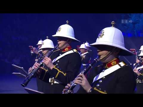 Royal Marines Band & Corps of Drums Basel Christmas Tattoo 2014
