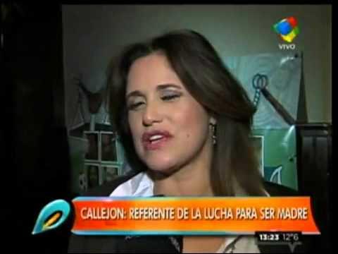 """María Fernanda Callejón, súper embarazada: """"La gente llora cuando me encuentra en la calle"""