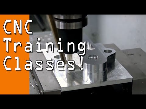Learn CNC: CNC Training Classes at NYC CNC in Zanesville, Ohio!
