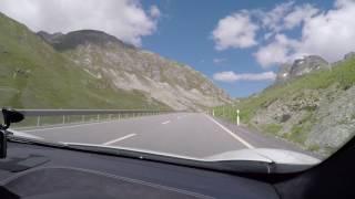 Julierpass McLaren MP4 12C in the Swiss Alps