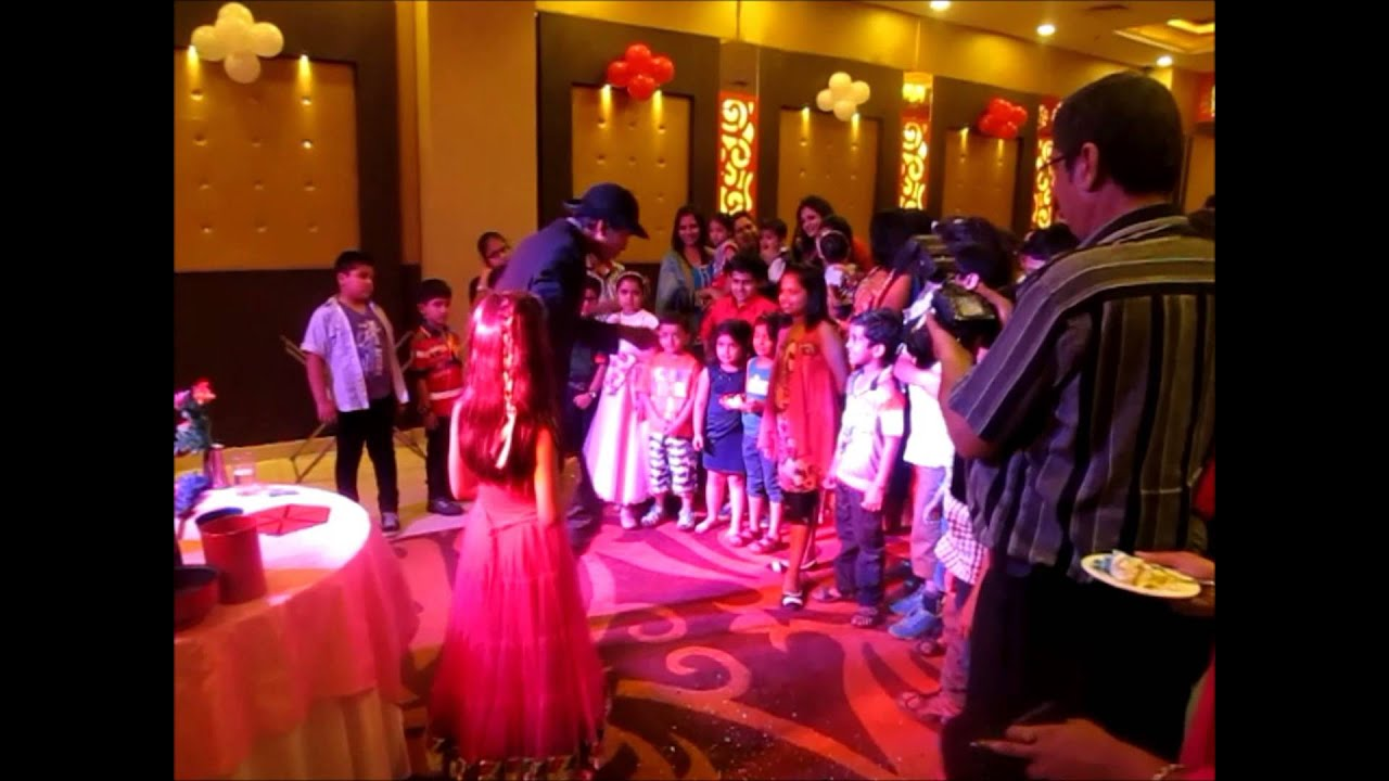 Magic Show for Birthday Parties in Faridabad Delhi and Gurgaon YouTube