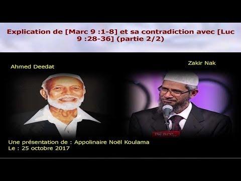 Explication de [Marc 9 :1-8] et sa contradiction avec [Luc 9 :28-36] (partie 2/2)