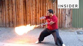 Real-Life Firebending