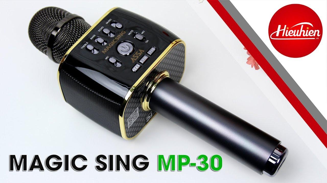 Đánh giá Magic Sing MP30 – Micro Karaoke Bluetooth tốt nhất hiện nay 2019