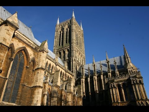 338 steps...ground to tower at Lincoln Cathedral
