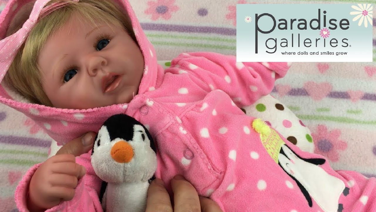 995272ecf870 Changing Paradise Galleries Reborn Baby Happy Teddy Doll - YouTube