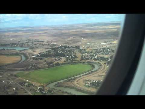 Horizon Airlines Q400 Take off from Great Falls MT