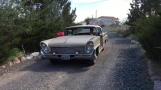 1958 Lincoln Premiere - First test drive