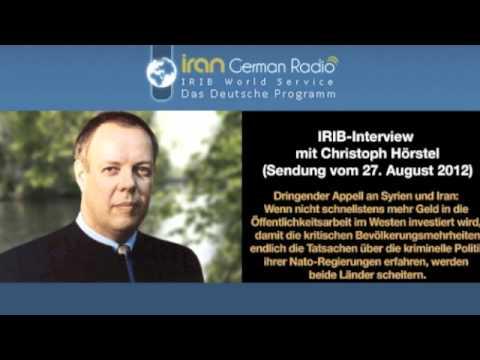 IRIB-Interview mit Christoph Hörstel: PR-Defizite in Syrien und Iran (Sendung vom 27. August 2012)