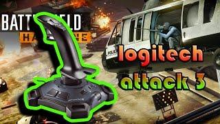 Battlefield Hardline Beta PC, CONFIGURANDO LOGITECH ATTACK 3