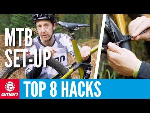 Top 8 Mountain Bike Set Up Hacks