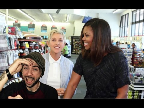 Ellen and First Lady Michelle Obama Go to CVS REACTION!!!