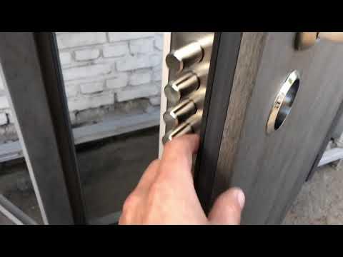 Бронированная дверь СКАЛА. Стандартная комплектация