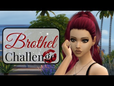 Let's Play The Sims 4 | Brothel Challenge Pt. 1 | Welcome To The Moulin Rouge💋