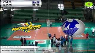 11-04-2015: #CMVolley Materdominivolley.it - GS Atletico
