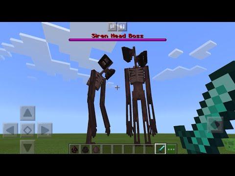 Sirenhead MOD UPDATE In Minecraft PE