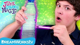 Pen Through Water Bottle Trick | JUNK DRAWER MAGIC