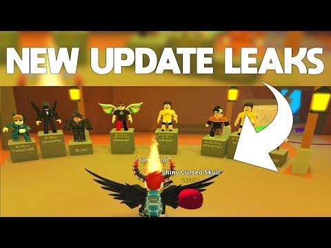 NEW MINING SIMULATOR UPDATE LEAKS (Leaderboard Statues!)   ROBLOX Mining Simulator