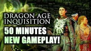 Dragon Age Inquisition Gameplay Walkthrough: NEW PC GAMEPLAY! Hour of DRAGONS, Giants & Horses