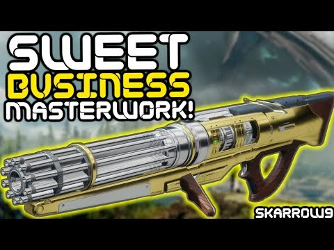 Destiny 2 - Sweet Business Masterwork Challenge Guide, Stats, and Review!! thumbnail