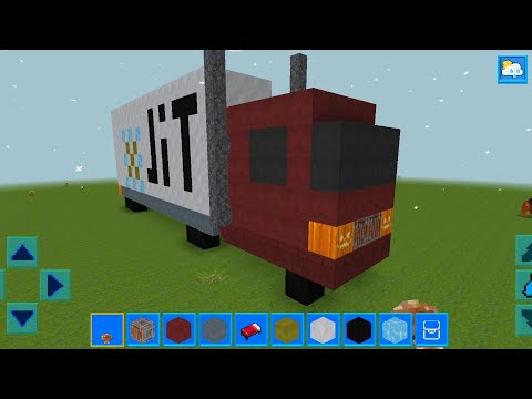 realmcraft-with-skins-export-to-minecraft-gameplay-#131-(ios-&-android)-|-truck