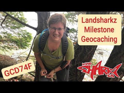 Landsharkz Milestone Geocaching On British Columbia's Gulf Islands