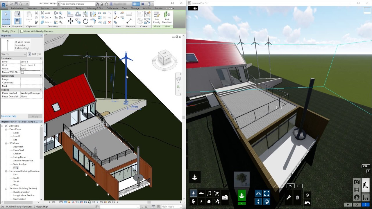 Lumion Livesync For Revit How To Use Livesync Youtube