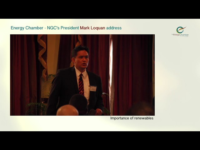 NGC President, Mark Loquan's Feature Address at TT Energy Chamber (Part 02 of 06)