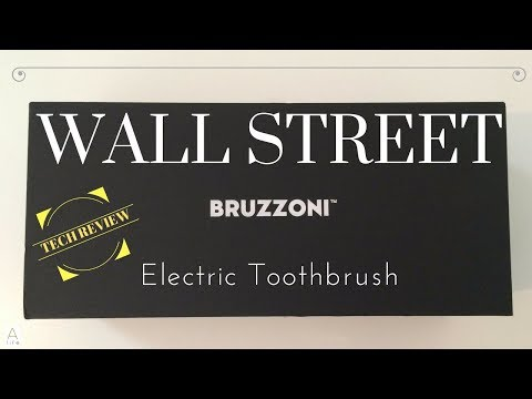 Tech Review:  Wall Street Bruzzoni toothbrush