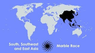 Marble Race - South, Southeast and East Asia