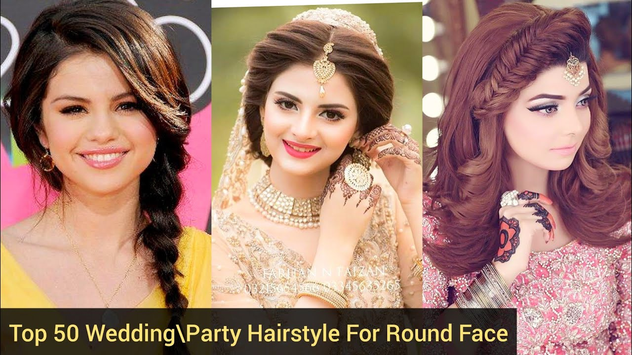 Top 50 Bridal Party Hairstyle For Round Face Latest Top Trendy Round Face Hairstyle 2020 Best Ideas Youtube