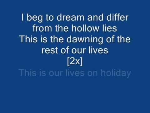 Green Day - Holiday (Lyrics on Screen)