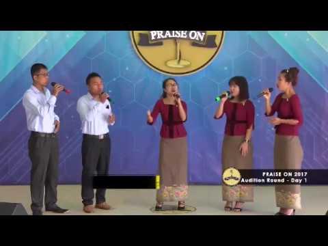 Ten Thousand Angels (Angel Sang Sawm) Accapella Chanmari West Branch Praise On Group 2017