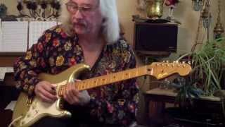 Mitch Chmara,s Hot Blues Guitar Endings # 2 A flat 7